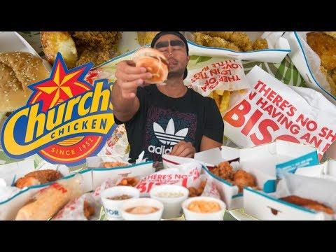 Church's Chicken ENTIRE Combo Menu (-#5) Challenge