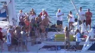 St Maarten Philipsburg Catamaran Excursion - Party Sailing