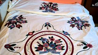 Amish Quilt Sew By Hand: Unfinish Quilting