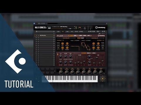HALion Sonic SE 3 New The FLUX Wavetable Synth | New Features in Cubase Pro 9.5