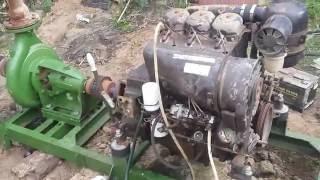Motopompe Deutz Fahr 3 cylindres Caprari