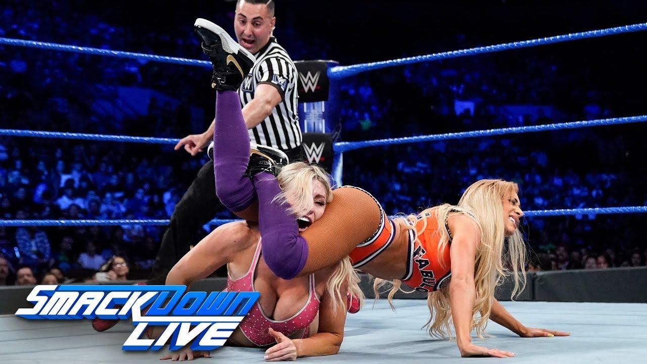 Carmella vs. Alexa Bliss vs. Charlotte Flair: SmackDown LIVE, June 4, 2019
