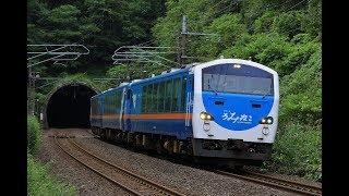 青い森鉄道 キハ48形8236D「リゾートうみねこ下北2号」 野辺地~千曳 2019年8月13日