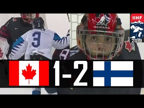 Finland eliminates Canada | 2019 WJC Highlights | Jan. 2, 2019