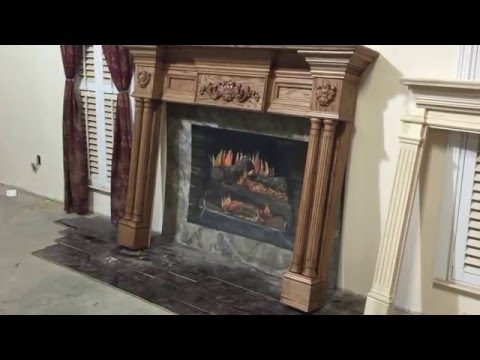 Lewisburg Mantel with speciall appliques