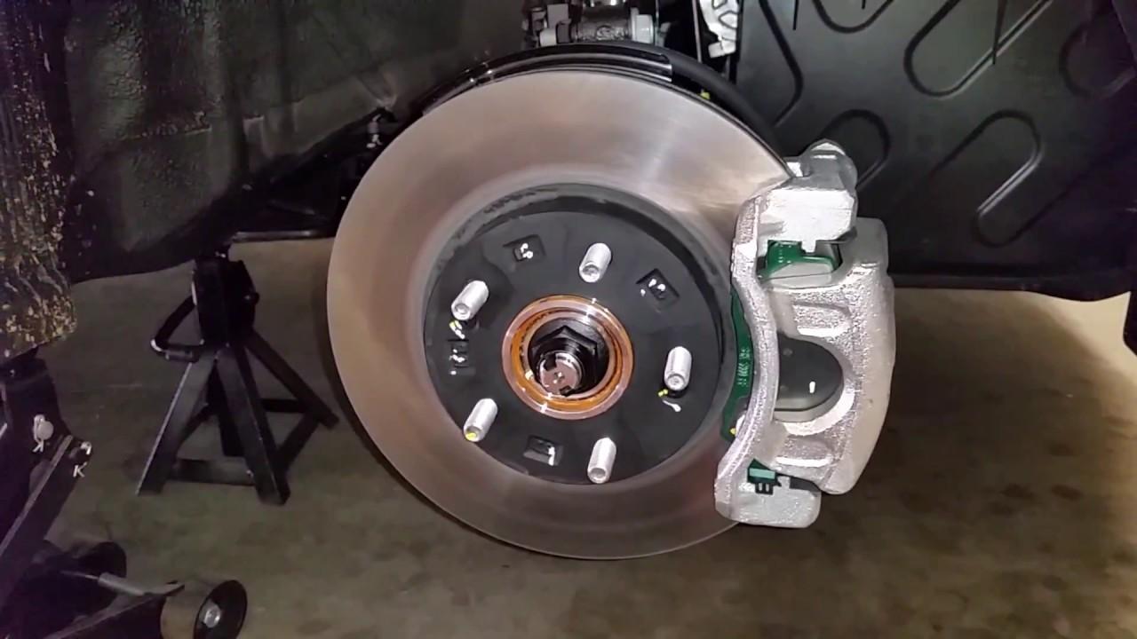 Brake Caliper Bracket >> 2012-2017 Hyundai Veloster - Checking Front Brakes @ 30K ...