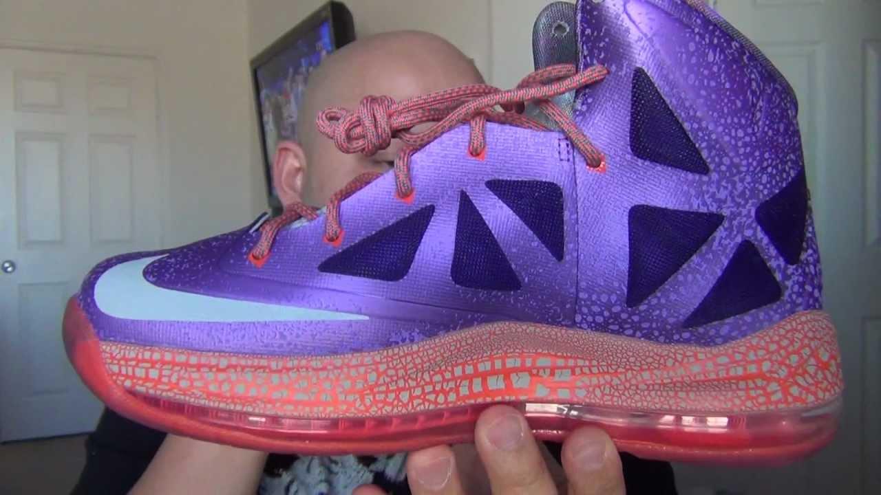 Womens Nike LeBron 10 All Star
