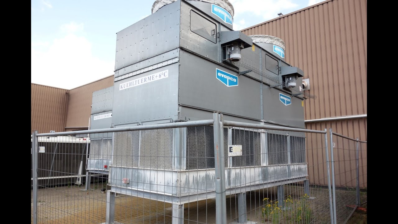 Evapco At 28 621 Cooling Tower Youtube
