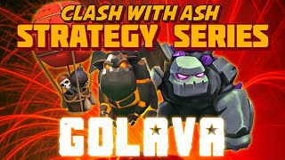 Clash Of Clans - GoLava 2.0 - Using 2 Golems To 3 Star