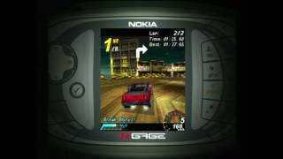 Aspahlt Urban GT - Nokia N-Gage Gameplay