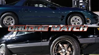 GRUDGE DRAG RACE - Nitrous Mustang vs Turbo Trans am