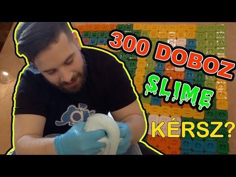 300 DOBOZ SLIMEot CSINÁLTUNK ! - MOST KAPHATSZ BELŐLE ! | SLIMEos AKCIÓ !