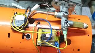 отзыв! Ремонт газовой пушки Elecon Power fa-50p  устранение брака