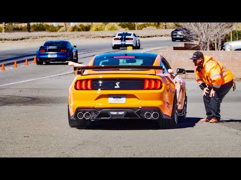FORD TAKES THE 2020 GT500 TO THE TRACK! | *EXCLUSIVE*