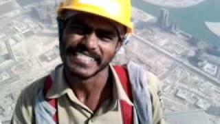 Burj Khalifa -  Men of steel....