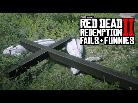 Red Dead Redemption 2 - Fails & Funnies #5 (Random & Funny Moments)