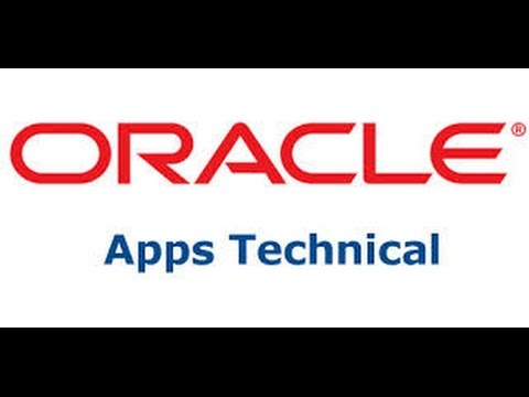 Oracle Apps R12 Technical Session 1