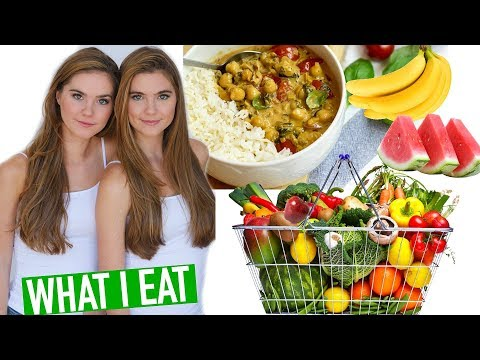 WHAT I EAT IN A DAY VEGAN  Grocery Haul VLOG