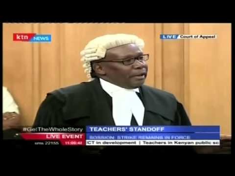 LEGAL DRAMA: Hard tackle as Lawyers Paul Muite and Githu Muigai face off in court