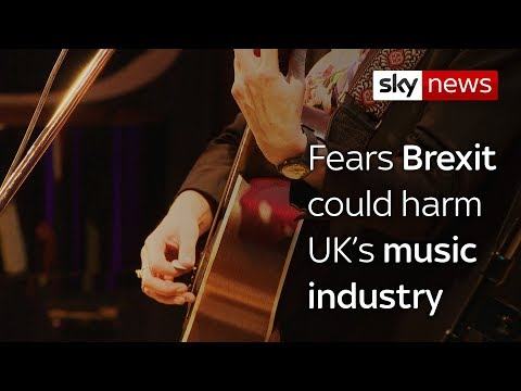 Music industry warns Brexit could threaten UK's creative industries