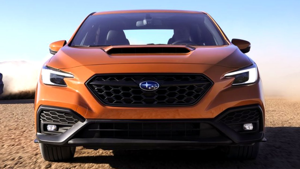 2022 Subaru WRX debuts with new look, evolutionary upgrades
