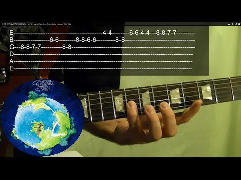 Siberian Khatru Intro by YES - Guitar Lesson - Steve Howe