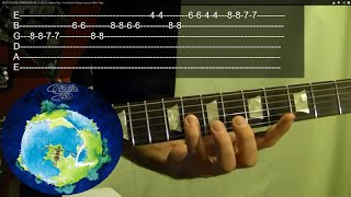Guitar Lesson - YES - Siberian Khatru Intro - With Printable Tabs