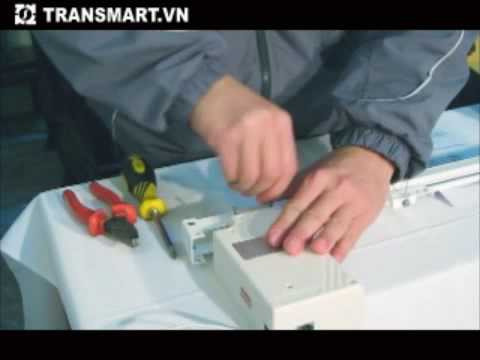 TRANSMART-Hướng dẫn lắp đặt Rèm điều khiển từ xa