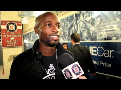 DaMarcus Beasley back at Toyota Park