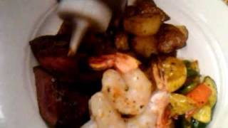 """""""surf & Turf"""" And """"orange Roughy"""" Plated At Berryhill's.3gp"""