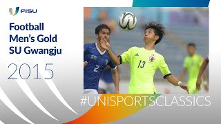 Gwangju 2015 Men s Football Gold Medal Game Italy vs South Korea UniSportsClassics