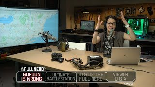 Why Gordon is wrong, our ultimate battlestations, and BTS of The Full Nerd | The Half Nerd Ep. 57.5