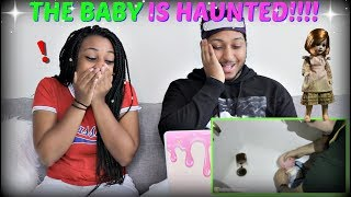 "Shane Dawson ""HAUNTED BABY DOLL GAME"" REACTION!!!!"