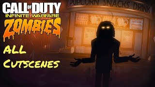 Call of Duty: Infinite Warfare Zombies - All Cinematic Cutscenes