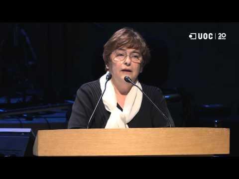 María Rosa Sanz García_Discurs de la representant dels graduats del curs 2014-15