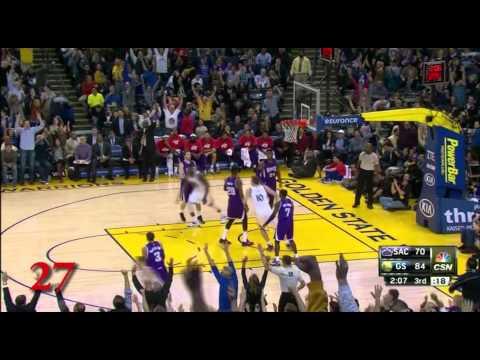 Klay Thompson 37 Point Quarter Full HD Highlights 1/23/2015 Warriors vs. Sacramento Kings