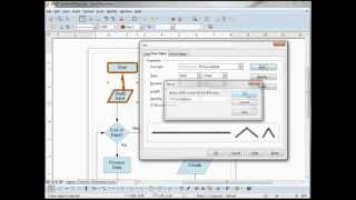 LibreOffice Draw (08) Line and Fill Area Part 1