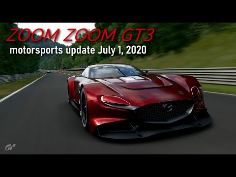 Zoom Zoom GT3 – Motorsports Update July 1, 2020