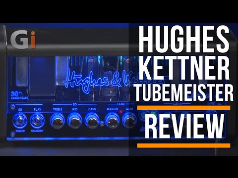 Review Hughes And Kettner TubeMeister 18 Head | 30th Anniversary | Guitar Interactive Magazine