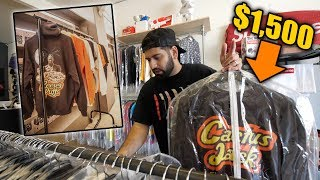 BUYING $1,500 RARE TRAVIS SCOTT MERCH!! *REESES PUFFS*