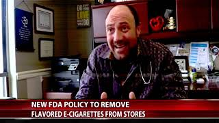 Fios 1 interviews Dr. David Gentile on the flavored E-cigarette teenager ban