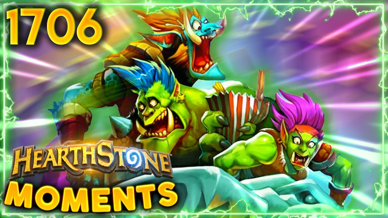 The ONE TIME Where Lag Was USEFUL!   Hearthstone Daily Moments Ep.1706