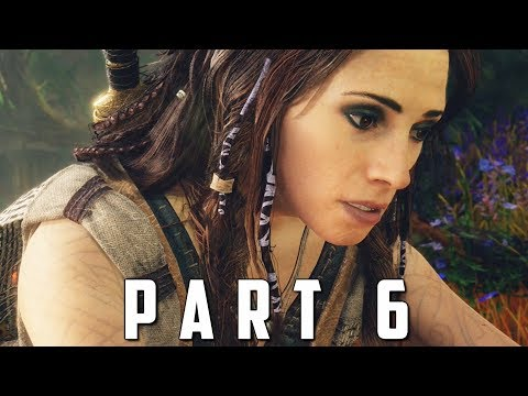 GOD OF WAR Walkthrough Gameplay Part 6 - THE WITCH (God of War 4)
