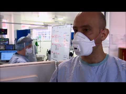 St George's ICU - BBC London