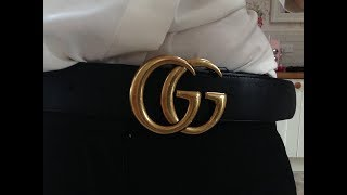 A honest useful guide for buying the right size Gucci marmont gg belt size guide