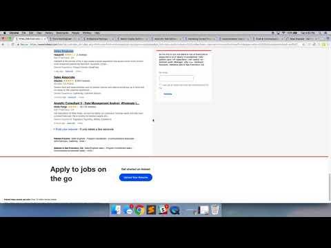 How to apply for web developer jobs online