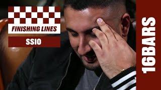 Wie gut kennt SSIO seine Lines? #finishinglines | 16BARS.TV