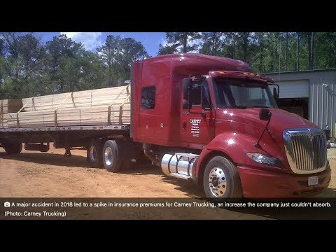 Spike in insurance rates lead to shutdown of Carney Trucking