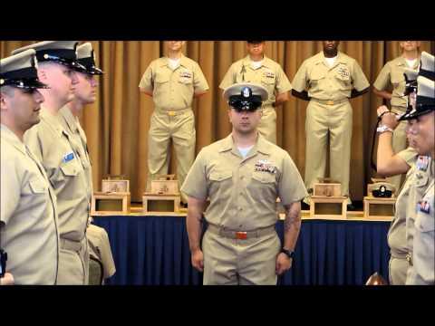 FY15 Navy Misawa's Chief's Pinning Ceremony