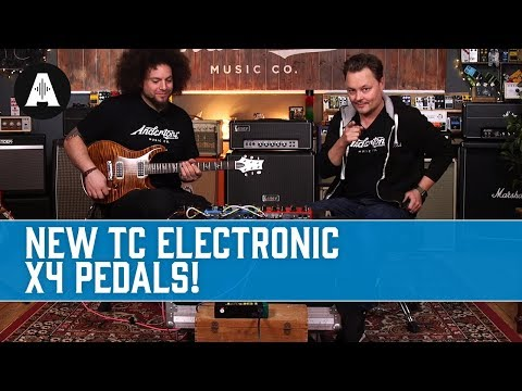 New TC Electronic X4 Pedals!